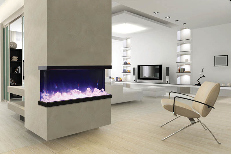 50-TRU-VIEW-XL – 3 sided 50 inch wide electric fireplace