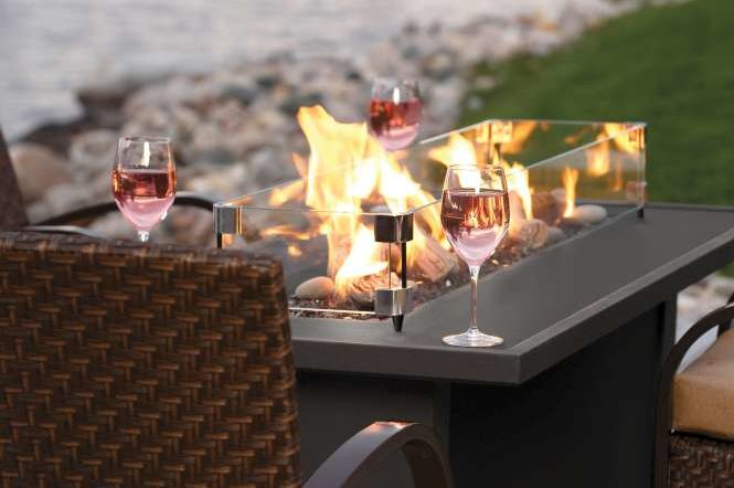 Gas Firepits Tables Tophat Pro